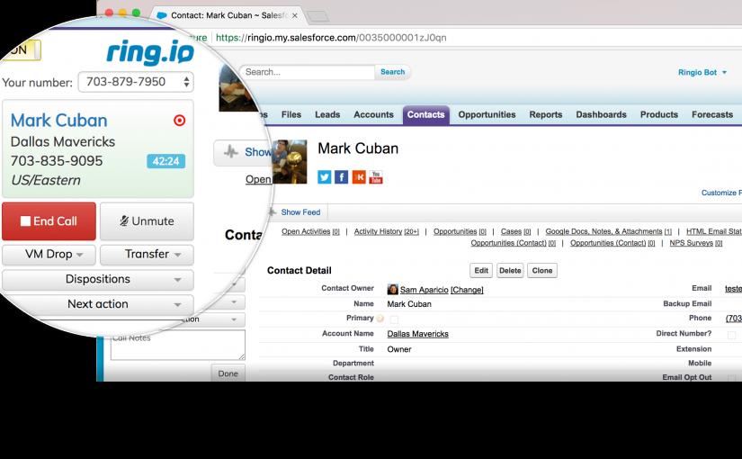 Salesforce ScreenShot One