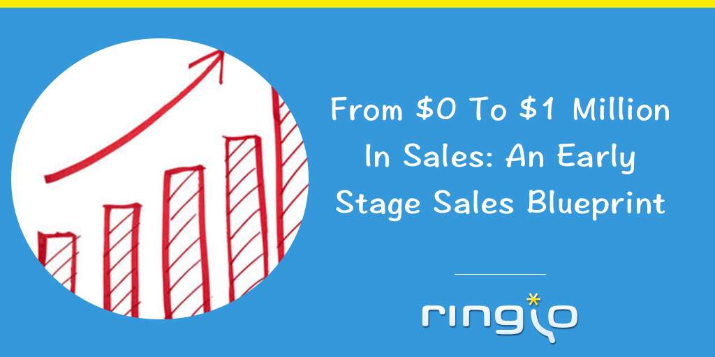 From $0 To $1 Million In Sales: An Early Stage Sales Blueprint
