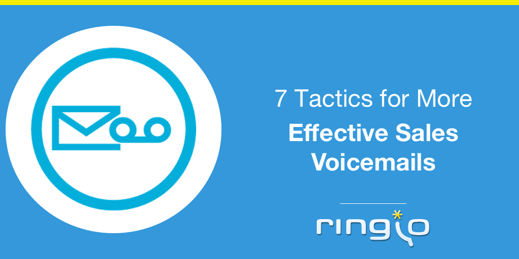 7 Tactics for More Effective Sales Voicemails