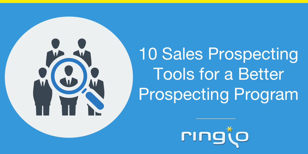 10 Sales Prospecting Tools for a Better Prospecting Program