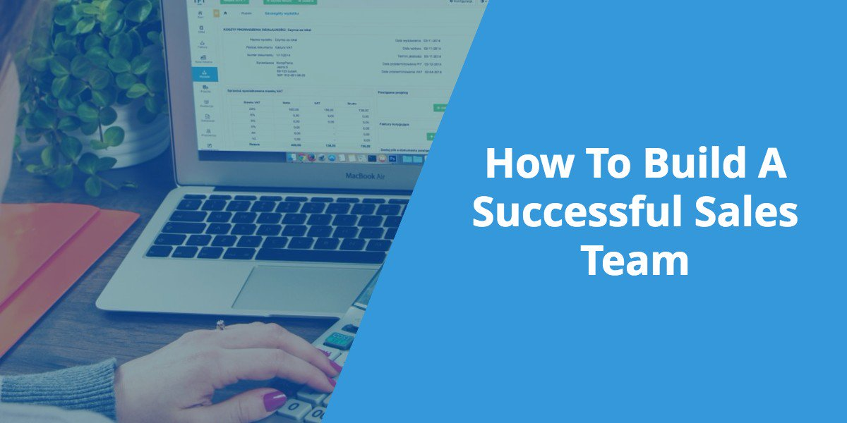 How To Build A Successful Sales Team (Video Interview)