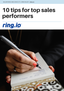 10 Tips for Top Sales Performers