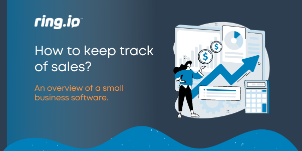 An overview of a small business sales software